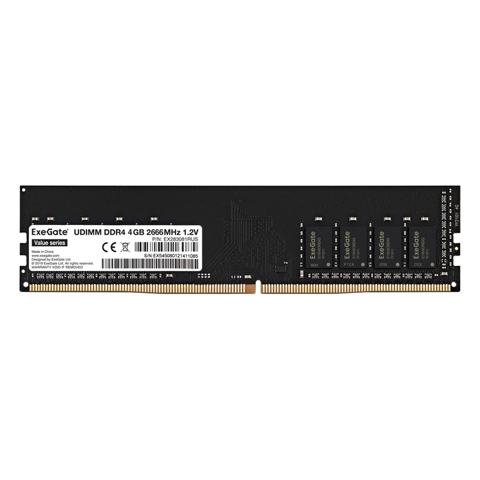 Value DIMM DDR4 4GB 2666MHz