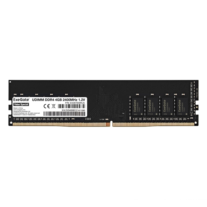 Value Special DIMM DDR4 4GB 2400MHz