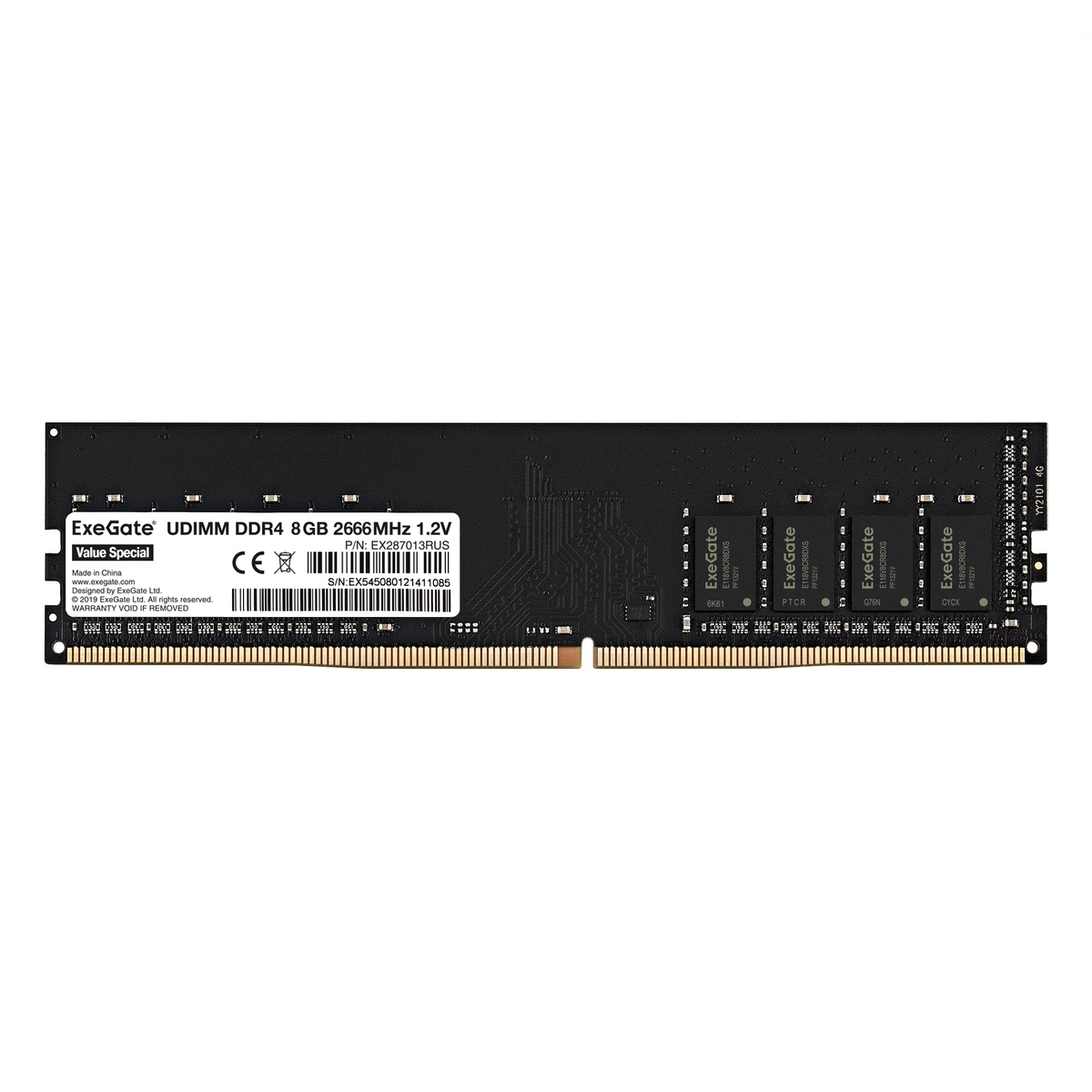 Value Special DIMM DDR4 8GB 2666MHz
