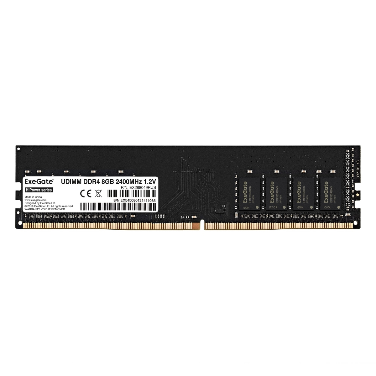 HiPower DIMM DDR4 8GB 2400MHz